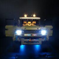 LED-Licht-Kit für LEGO 42110 Technic Land Rover Verteidiger Auto Modellbausatz