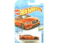 Hot Wheels Jaguar XE SV Project 8 Orange 244/250 Long Card 1 64 Scale Sealed New