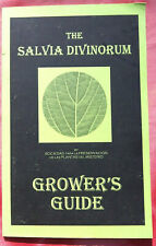 Salvia Divinorum How2 Grower's Guide Rooting Hydroponics Pests Nutrients Sources