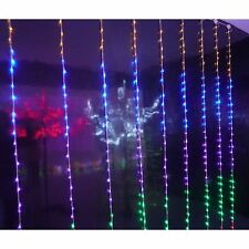 H2.8m X W2.4m 400 LED Multi Function Curtain Christmas Crimbo Light Decoration