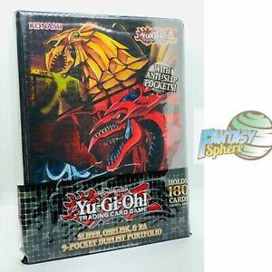 Yu-Gi-Oh! Classeur 180 cartes : Slifer, Obelisk, et Ra Portfolio Dieux Egyptiens