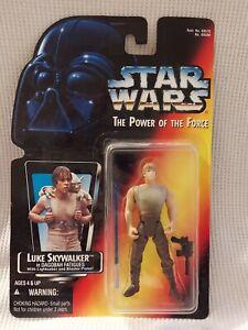 Star Wars Power Of The Force Luke Skywalker Dagobah
