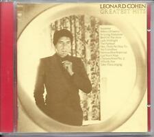 CD COMPIL 12 TITRES--LEONARD COHEN--GREATEST HITS...
