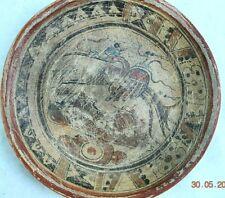 "Sale! Pre Columbian Mayan Crypt Bird Bowl, 7"" Prov"