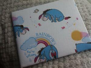 Disabled Blue badge holder wallet cover EEYORE fabric Hologram safe