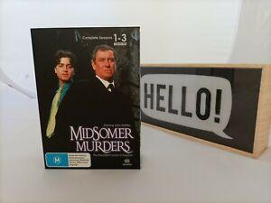 MIDSOMER MURDERS Complete Seasons 1 - 3 Box Set John Nettles Free Postage !!