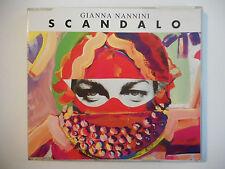 GIANNA NANNINI : SCANDALO ♦ CD ALBUM ITALIE PORT GRATUIT ♦