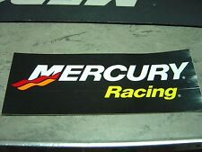 "MERCURY OUTBOARD ""MERCURY RACING"" BLACK DECAL - STICKER"