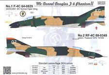 Print Scale Decals 1/32 MCDONNELL DOUGLAS F-4 PHANTOM II Part 1