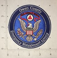 Owen County Emergency Management Agency Patch