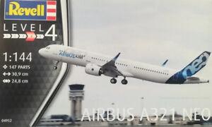 Revell 1/144 Airbus A321 Neo - 04952 Plastic Model Kit
