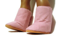 Light Pink Boots fits American girl dolls 18 inch Doll Clothes