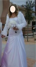 Sexy Wedding dress Mermaid White Sweetheart Include Jacket  and Gloves