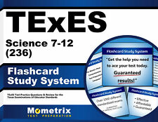 TExES Science 7-12 (236) Flashcard Study System