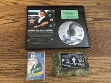 Ritchie Valens Festival Ad, & 45 Rpm.Framed.Cassette Tape.La Bamba