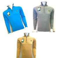 Lyle and Scott Long Sleeve Men's Zip Jumper---Festive Sale