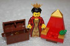 """LEGO Minifigures Knights Ritterwelt /"""" Königin /""""  Top  Zustand"""