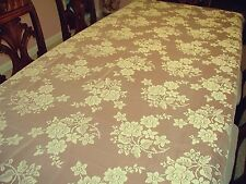 Tablecloths Rose Bouquet 52X70 Ivory Rectangle Lace Tablecloth Oxford House