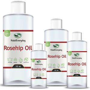 Rosehip Oil - 100% Pure Natural Organic Cold Pressed Virgin Unrefined Uncut Bulk