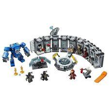 New 560Pcs Avengers Endgame Iron Man Hall of Armor Building Blocks Bricks Marvel