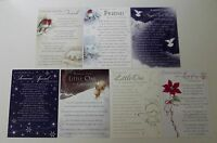 Christmas Graveside Memory Cards - Friend, Little One, Love of My Life Christmas