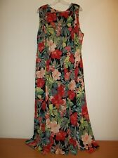 SCARLETT Multi Color Floral DRESS - MAXI - SIZE 22W