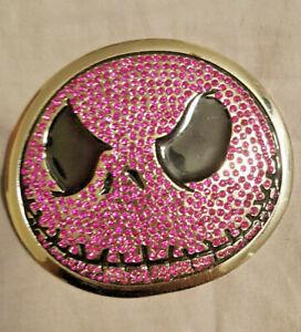 Jack Skeleton Nightmare Before Christmas Halloween Pink Face Belt Buckle-Free🚚