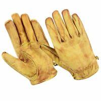 Gants moto été, gants vintage, gants en cuir rétro vintage,cire beige