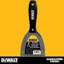 """DEWALT Putty Knife 4"""" Carbon Steel Joint Knife Flexible Paint Scraper"""