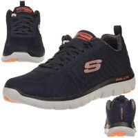 Skechers Skech Flex Advantage 2.0 The Happs Herren Sneaker Fitness Schuhe navy