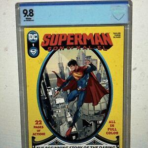 Superman: Son of Kal-El 1 CBCS 9.8 Pre-Sale