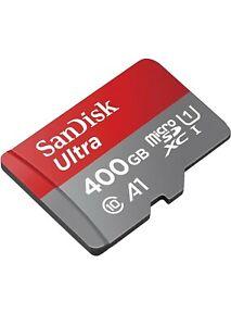 SanDisk 400GB Micro SD SDXC MicroSD UHS-1 A1 Class 10 400G 400 GB Ultra 120MBs