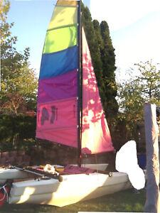 katamaran segelboot Newcat 14