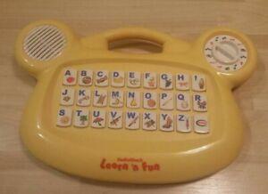 Vintage Radio Shack Learn 'n Fun alphabet spelling musical teaching toy