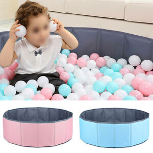 Foldable Kids Baby Toy Indoor Tent Ocean Ball Pit Pool Round Children Game Play