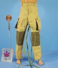 1:6 Figure WW2 US M-42 Camo Paratrooper UNIFORM Trousers Pants Reinforced OK011