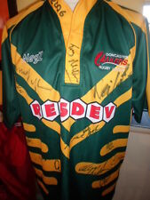 Squad Signed Doncaster Lakers 2006  Rugby League Shirt adult XL