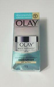 OLAY WHITE RADIANCE Light Perfecting Day Cream SPF 24 Advanced Whitening...