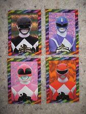POWER RANGERS Cards Near SET Pink Red Black Blue AN1 AN3 AN4 AN5 New Season 1995