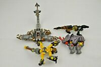 Lot of 4 2006 Transformer Robots in Disguise Takara Tomy Hasbro Animals Scorpion