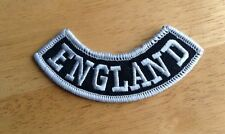 England Patch Bottom Rocker  Outlaw Biker 1%er MC MCC Motorcycle Bike