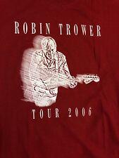 Robin Trower Rock Concert Shirt Jimi Hendrix Rainbow cd Ufo Gillan Jeff Beck Elp