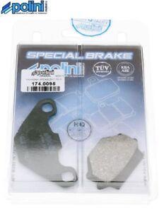 2 Plaquette Frein Avant Polini 174.0095 Organique TGB Blade 250 325 450 460 550