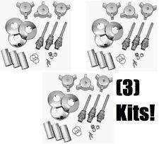 (3) ea Brass Craft # SK0116 Eljer Tub / Shower Plumbing Repair Kits