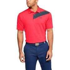 Under Armour Golf Playoff 2.0 Polo Shirt (Beta Red/Academy - XL)