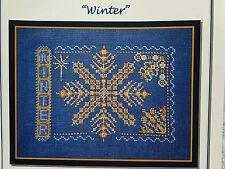 Turquoise Graphics & Designs Cross Stitch Chart Winter