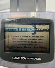 Quest for Camelot (Nintendo Game Boy Color GBC 1998) - CIB Complete In Box