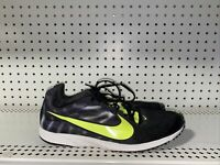 Nike Zoom Streak LT Mens Athletic Running Training Shoes Size 10 Black Volt