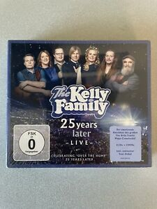 THE KELLY FAMILY - 25 YEARS LATER-LIVE (DELUXE EDITION) CD+DVD - NEU & OVP!