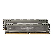 16GB (2x8GB) Ballistix Sport LT Grau DDR4-3000 CL16 (16-18-18) RAM  SpeicherKit